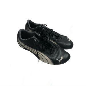 Puma black and white runners. 8.5